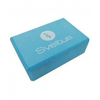 Yoga Brick bleu - Sveltus