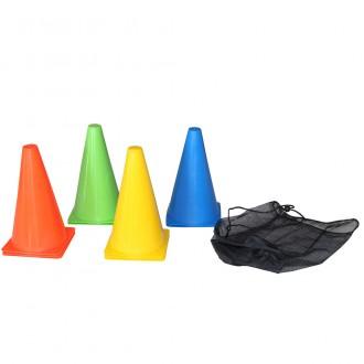 Training Cone Set, 10pcs, 23cm,...
