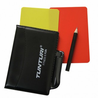 Referee Cards Set - Tunturi