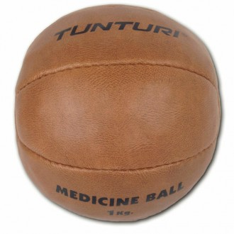 Medicine Ball Synthetic Leather -...
