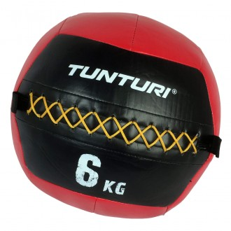 Wall Ball 6 kg rouge - Tunturi