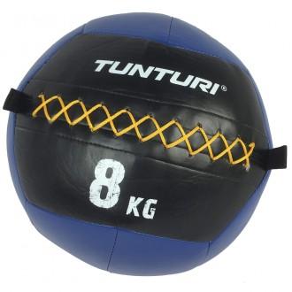 Wall Ball 8 kg bleu - Tunturi