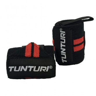 Wrist Wraps Red, Pair - Tunturi