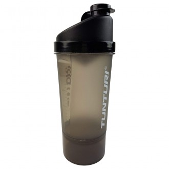 Protein Shaker 600ml with storage -...