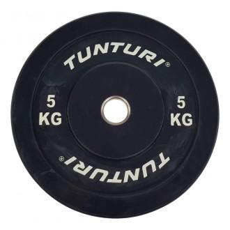 Bumper Plate 5kg Black - Tunturi