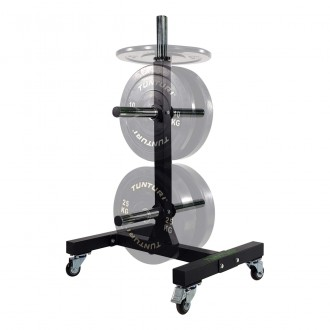 Upright Bumper Plate Rack - Tunturi