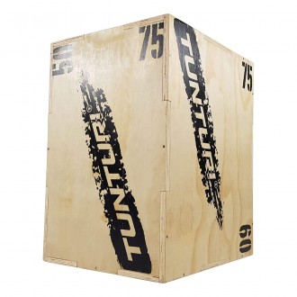 Plyo Box Wood 50/60/75cm - Tunturi