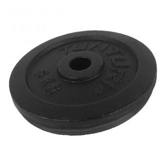 Plate Black 5.0kg, Single - Tunturi