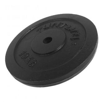 Plate Black 10.0kg, Single - Tunturi
