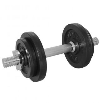 Dumbbellset 10kg, with 1 Bar Screw -...