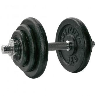 Dumbbellset 20kg, with 1 Bar Screw -...