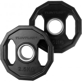 Olympic Rubber Plates 2.5kg, Pair -...