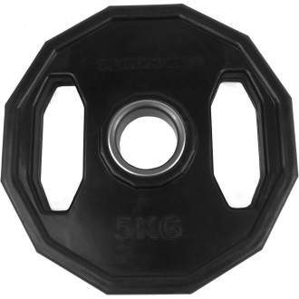 Olympic Rubber Plates 5.0kg, Single -...