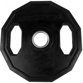 Olympic Rubber Plate 10.0kg, Single -...