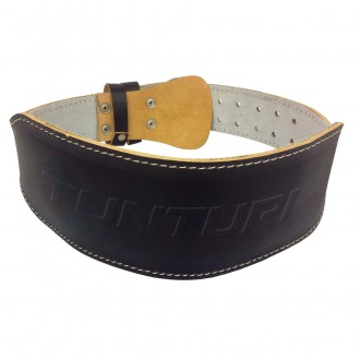 Weightlifting Belt 120cm, Black -...