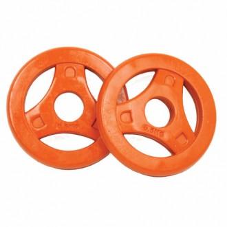 Aerobic Plates Rubber 0.5kg, Pair -...