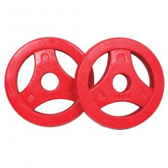 Aerobic Plates Rubber 1.25kg, Pair -...