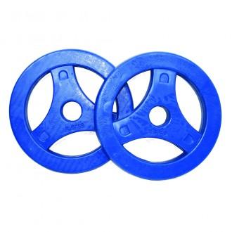 Aerobic Plates Rubber 2.50kg, Pair -...