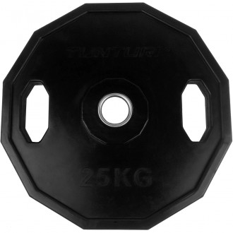 Olympic Rubber Plate 25.0kg, Single -...