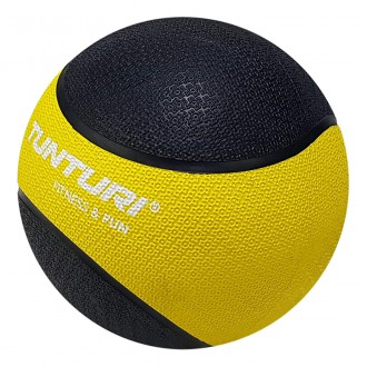 Medicine Ball 1kg, Yellow/Black -...