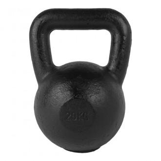Kettlebell Black 20kg - Tunturi
