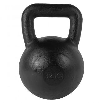 Kettlebell Black 32kg - Tunturi