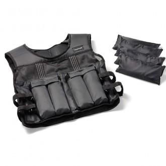 Adjustable Weighted Vest 15kg - Tunturi