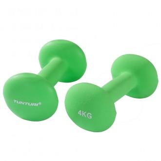 Neopreen Dumbbell 4,0kg Green - Tunturi