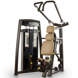 Seated lat pulldown