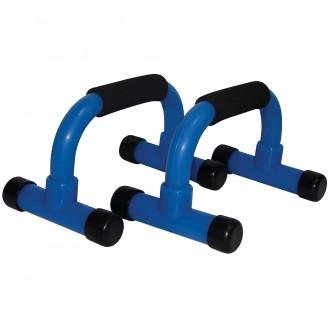 Push Up Bar PVC, Blue - Tunturi