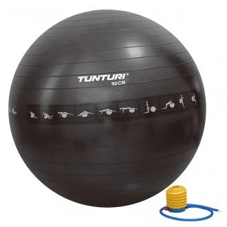 Gymball 90cm, Black, Anti Burst -...