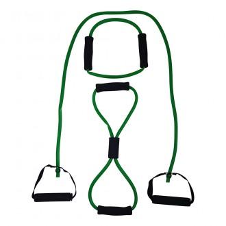 Tubing Set with Grip, Medium, Green -...