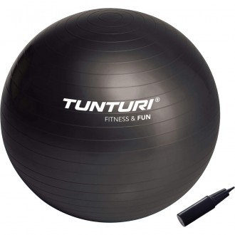 Gymball 65cm, Black - Tunturi