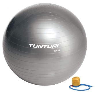 Gymball 90cm, Silver - Tunturi