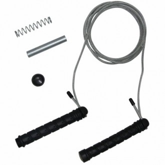 Jumprope Steel, Adjustable Weight -...
