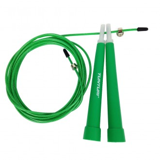 Jumprope Steel, Adjust. Length, Green...