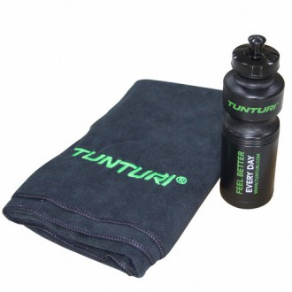 Towel & Bottle set - Tunturi