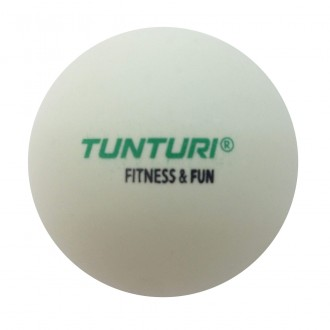 Tabletennis Balls (6pcs) White - Tunturi