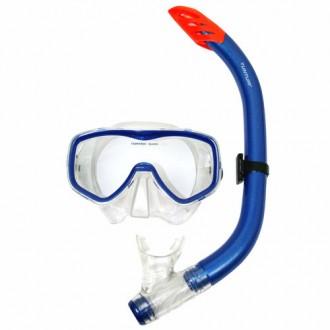 Snorkel Set Senior Siliter - Tunturi