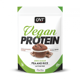 Vegan Protein Powder (500g) - Qnt