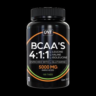 BCAA 4:1:1 + L-Glutamine (180 Tabs) -...