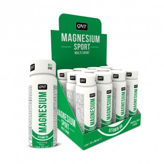 Magnesium Sport Shot (12x80ml) - Qnt