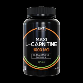 Maxi L-Carnitine 1000 mg (90 Tabs) - Qnt