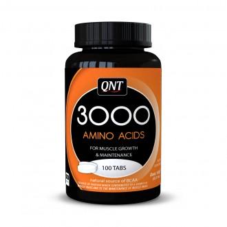 Amino Acid 3000mg (100 Tabs) - Qnt
