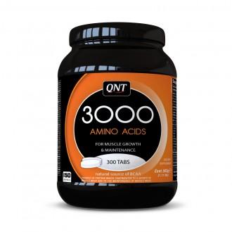 Amino Acid 3000mg (300 Tabs) - Qnt