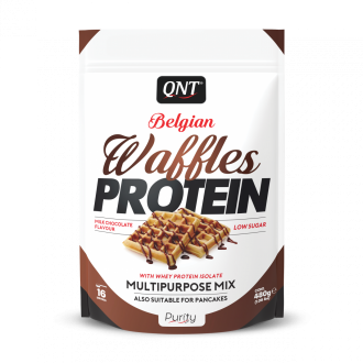 Belgian Waffles Protein (480g) - Qnt