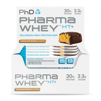 Pharma Whey HT+ Bar (12x75g)...