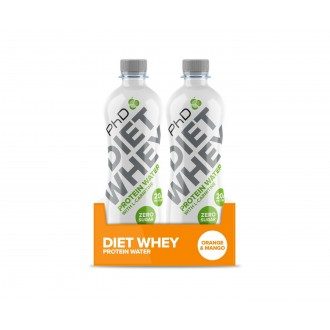 Diet Whey Protein Water (8x500ml) - PhD
