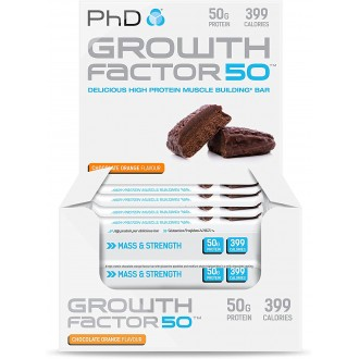 Growth Factor 50 Brownie (12x100g) - PhD