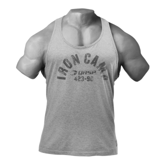 Throwback Tank (Grey Melange) - GASP